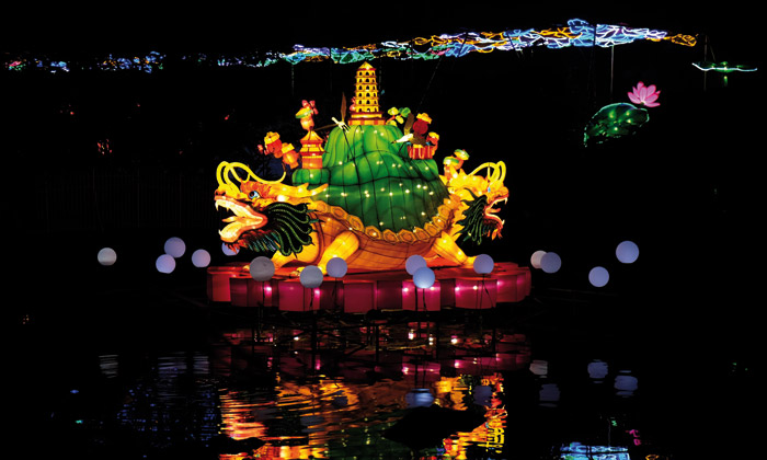 © Kölner Zoo/China Light Festival