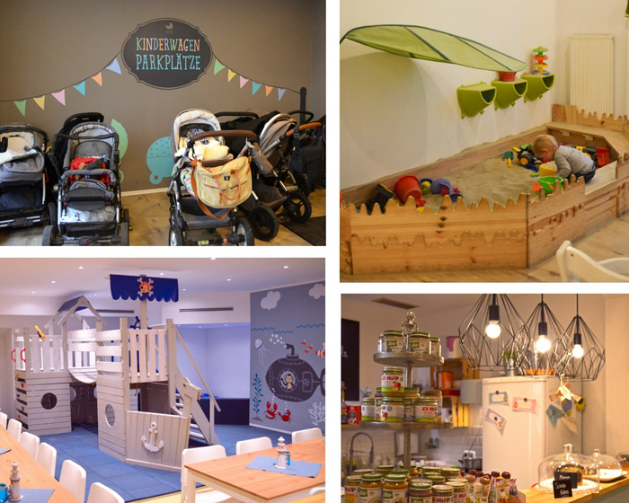 Kindercafé Bonn Café Frischling Cafe mit Spielzeug für